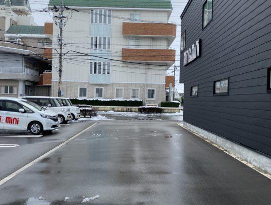 融雪付駐車場でお待ちしております♪ サムネイル
